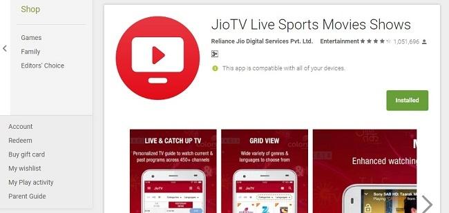 Jio TV