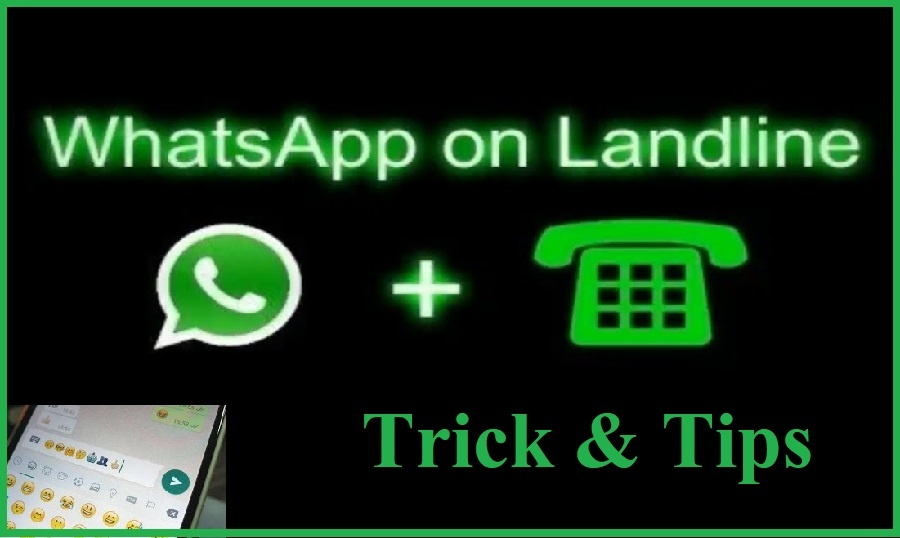How to Create Whatsapp Account with Landline Number in Hindi